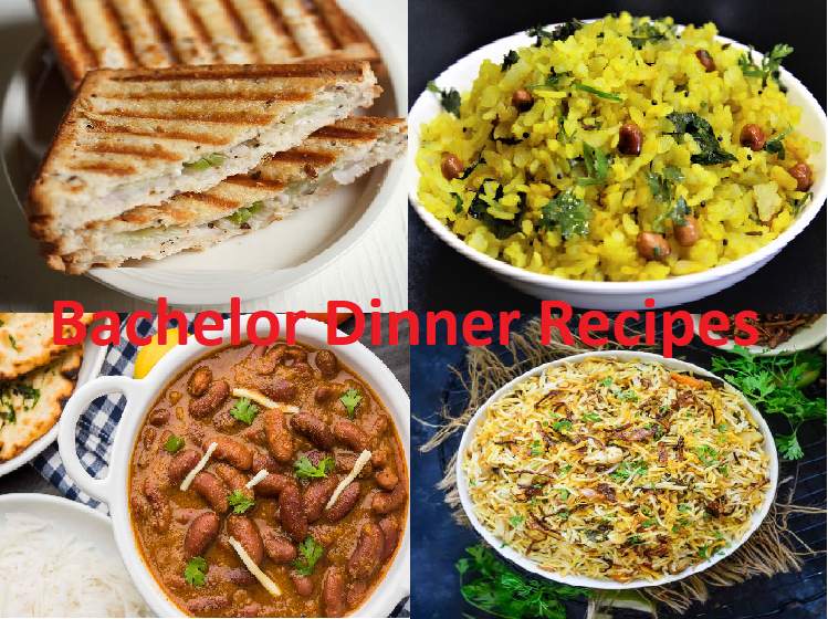 Indian Bachelor dinner recipes