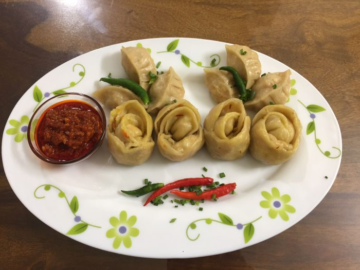 Rose Shape Veg Momo